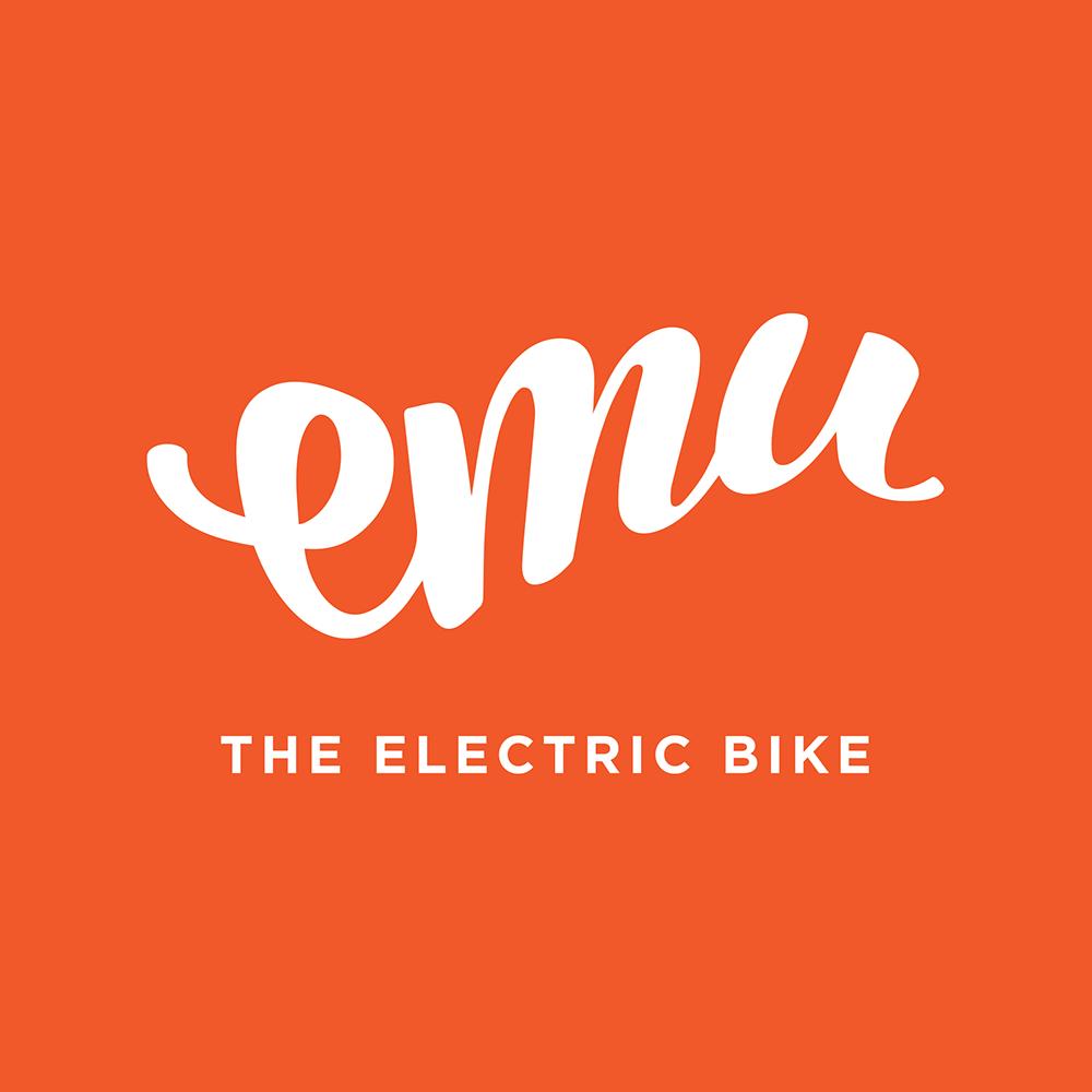 EMU Bikes white logo