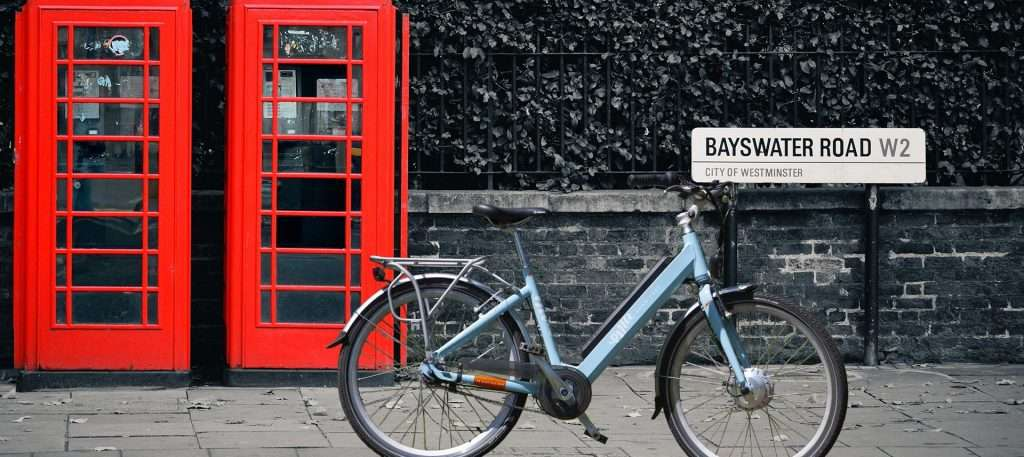 Red Phone Box London - EMU ebike