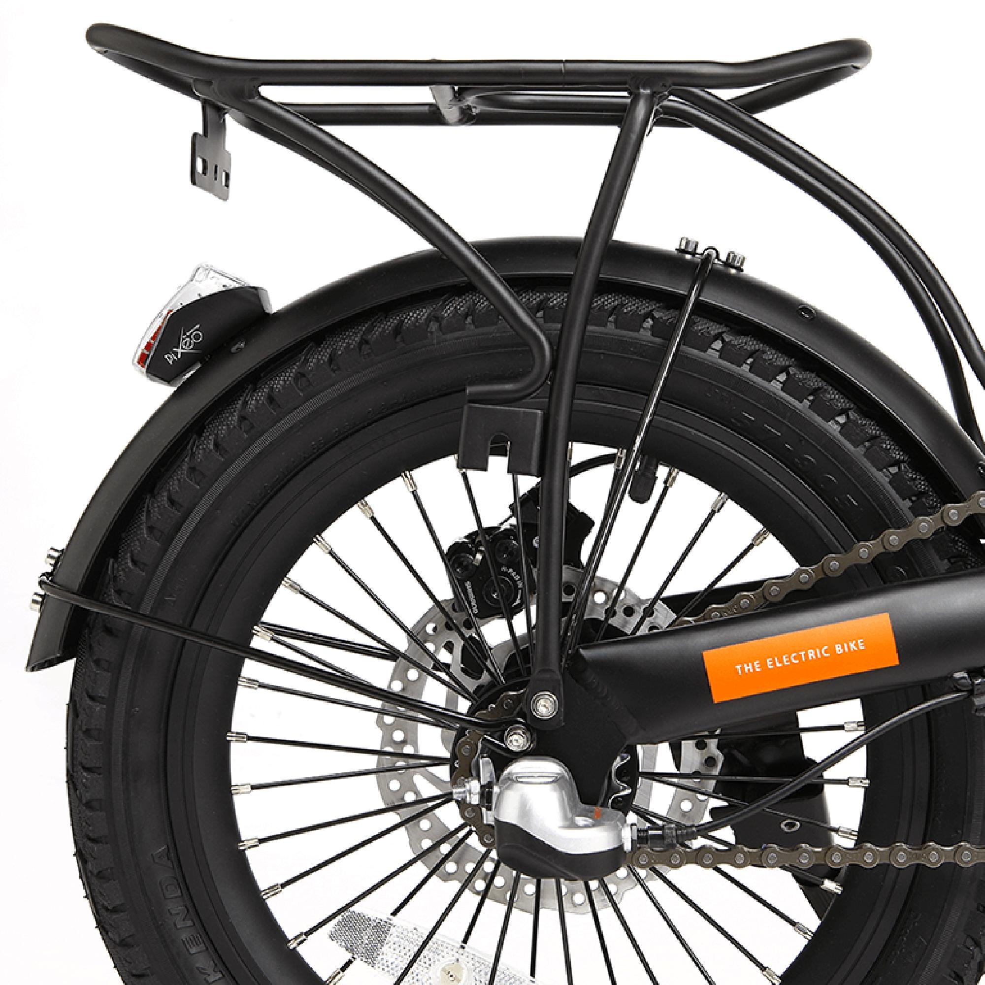 EMU mini bike rear pannier rack