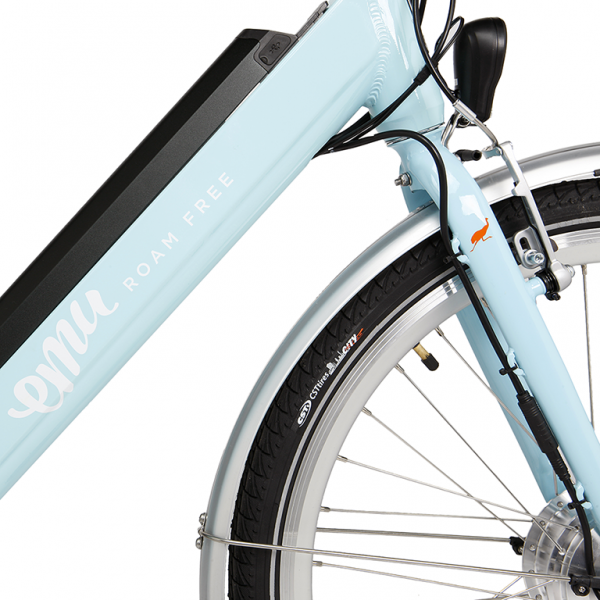 EMU ebikes step through frame