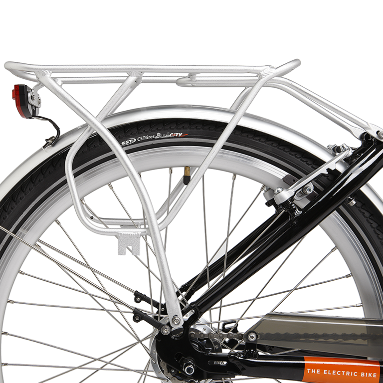 EMU rear cycle rack