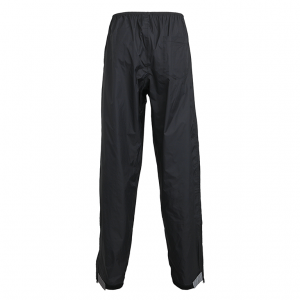 Cycling waterproof trousers over pants