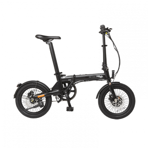 Emu Mini Folding ebike in black