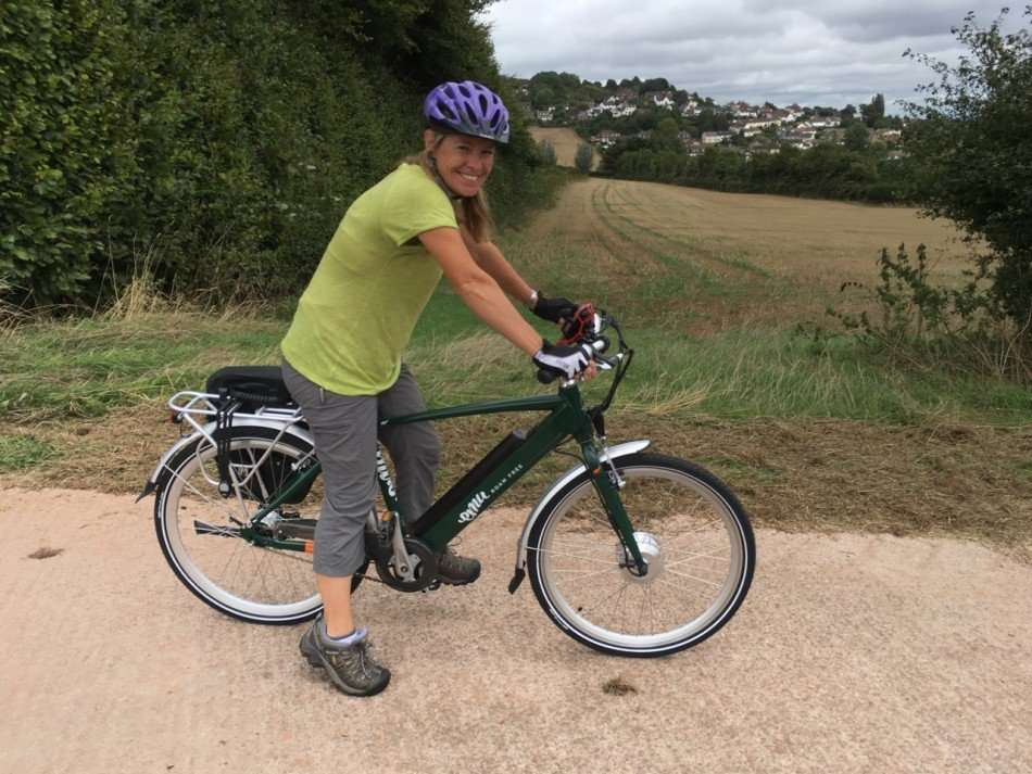 Countyfile cycling on Emu ebike