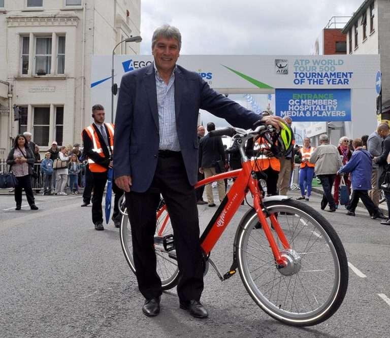John Inverdale rides EMU Bikes