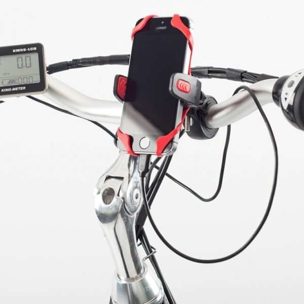 Cycle mobile phone holder