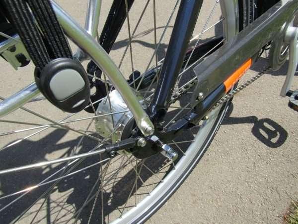 EMU eBike rear hub