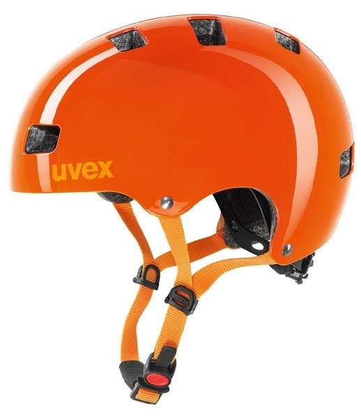 Uvex cycle helmet orange